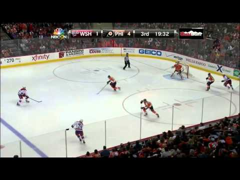 Washington Capitals vs  Philadelphia Flyers 05.03.2014