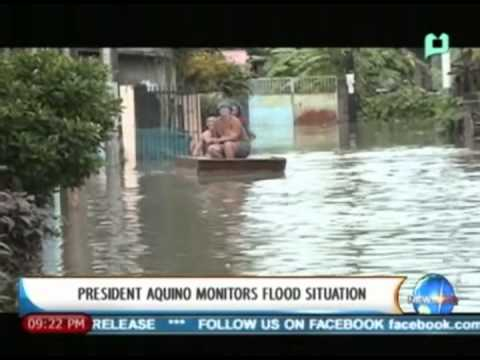 NewsLife: President Aquino monitors flood situation || August 20, 2013