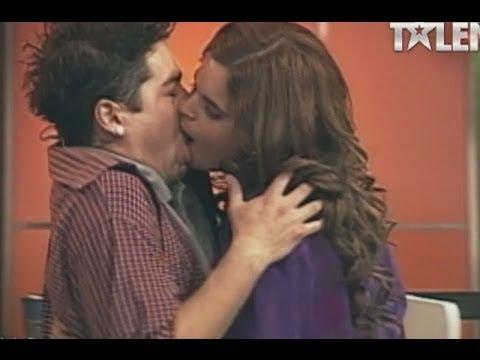 Natalia se llevó el premio a mejor actuación por tremendo beso