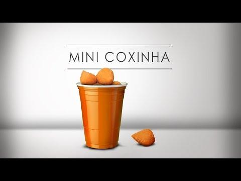 Mini Coxinha ou Coxinha de Copo