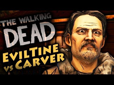 Walking Dead Season 2 Episode 2 - Bad Choices W/ Carver @ the Cabin *Evil* TWD