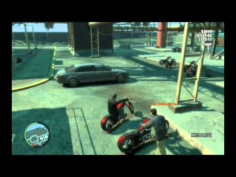 GTA4 - Gameplay (MP) HD