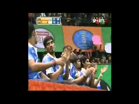 IBL 2013     Semi Final 2  Awadhe Warriors    DUTT vs  Mumbai Masters WEI