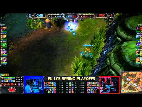 Fnatic vs Gambit Gaming Game 4 LCS 2013 EU Spring Grand Final 1080p HD