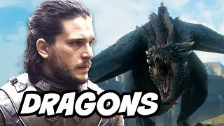 Game Of Thrones Season 7 - Daenerys Targaryen Dragons Secret Origin