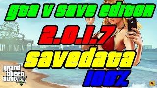 "GTA V SAVE EDITOR 2.0.1.4 2.0.1.5 (PS3/XBOX) ""NUEVO"