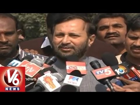 BJP Prakash Javadekar - Congress Should Expell the MPs Immediately