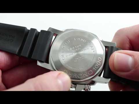 Panerai Luminor Submersible 1000M PAM 187 Luxury Watch Review