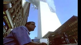 (Warning Graphic) People Jump From World Trade Center RIP