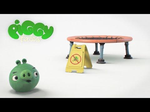 Piggy Tales - Trampolína