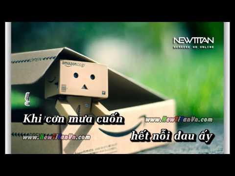 Beat karaoke Vết Mưa - Tone Nam