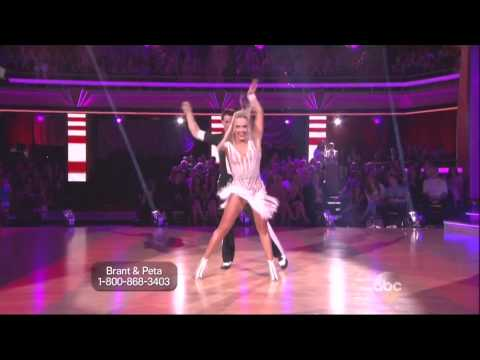 Peta Murgatroyd & Brant Daugherty dancing Cha cha cha on DWTS 9 16 13