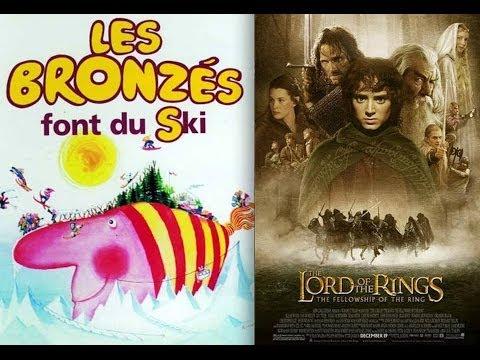 image vidéo Le Seigneur des Anneaux vs Les Bronzés font du ski