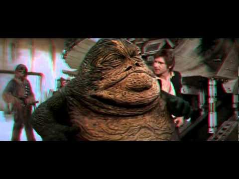 Star Wars 3D - Han Solo meets Jabba The Hutt Scene in 3D