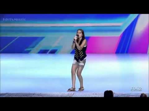 Carly Rose Sonenclar On X-FACTOR USA 2012