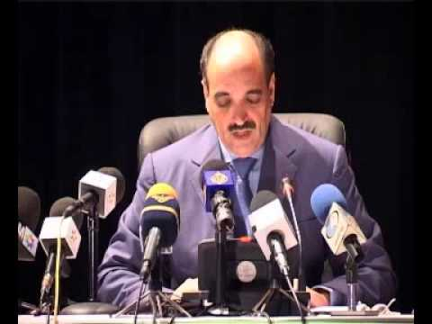 CORCAS president press conference after Smara Working Session - Western Sahara Territory Autonomy