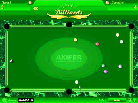 y8 billiard single player games