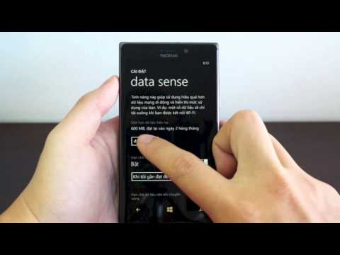 Sử dụng Data Sense để quản lý dung lượng 3G trên Windows Phone
