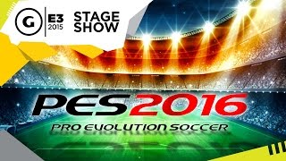 Pro Evolution Soccer 2016 videosu