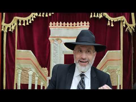 Un sefer Torah qui parle de nous. Lélïlouy nichmat Haï Victor ben Simha zal
