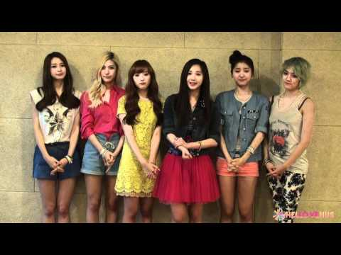 [Special] HELLOVENUS_Venus_Greeting to Fan