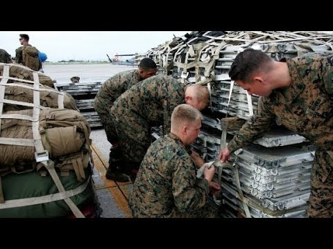 Marines head to the Philippines after typhoon catastrophe