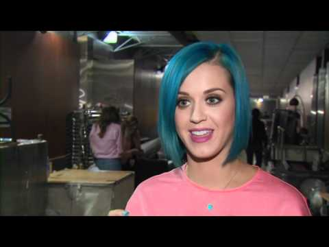 54th GRAMMY Awards - Katy Perry Interview