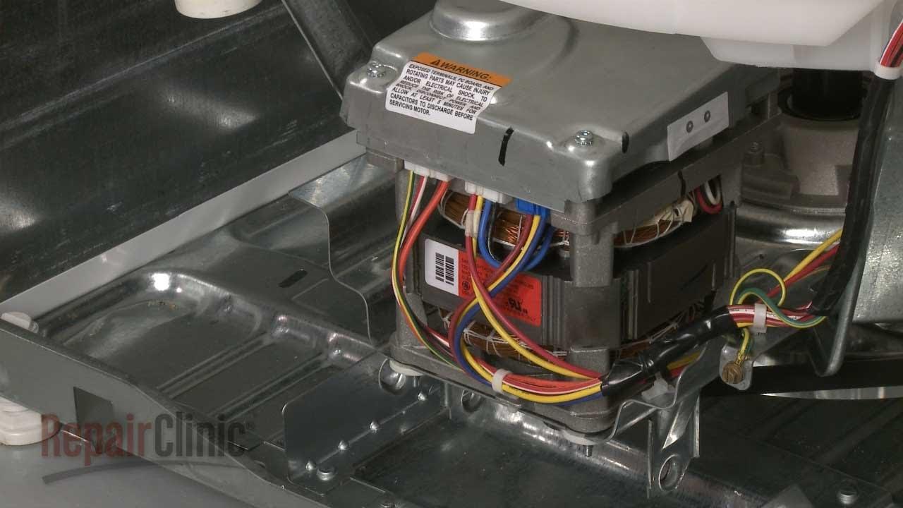 Washer drive motor replacement ge top load washing for Washing machine drive motor