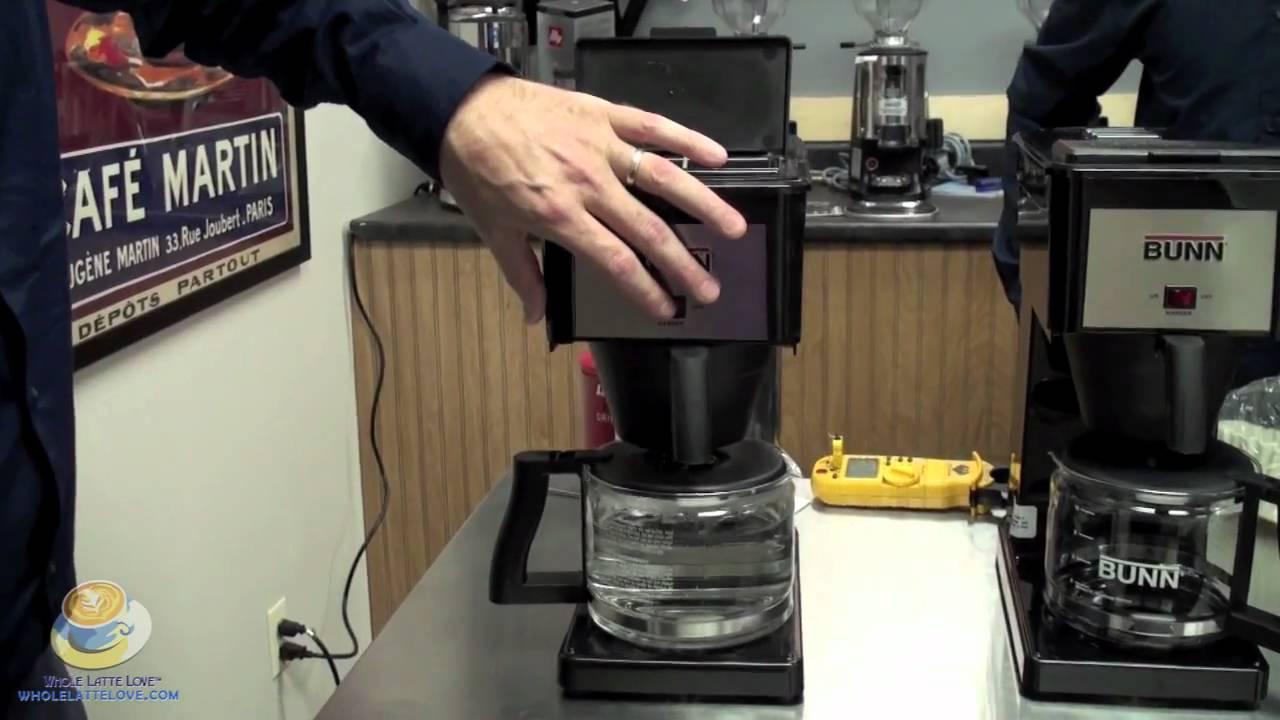 Bunn Coffee Maker - YouTube