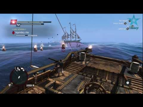 Assassins Creed: Black Flag - El Impoluto EASY STRATEGY - Legendary Ship Battle!!! [HD]