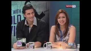 Tonight with Arnold Clavio: The Marc Pingris and Danica Sotto love story