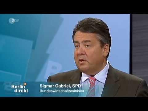 Berlin direkt - #TTIP - Entlarvendes Interview mit Sigmar Gabriel - 11.05.2014