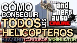GTA V Online: Como Conseguir TODOS Los Helicopteros