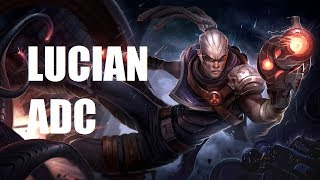 League of Legends Ranked – Hired Gun Lucian ADC – Full Game Commentary