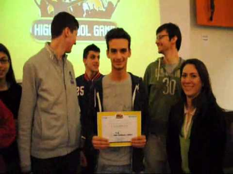 10 Marzo 2014 Liceo Statale Cassini High School Game fasi di Qualificazione