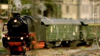 Die wunderschöne Modellbahn Altburg