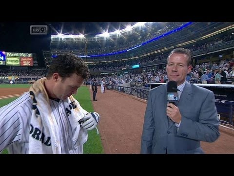 Nix discusses his walk-off, gets doused