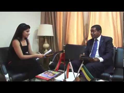 The Times of Africa conducted an interview with H E Mr  Desire Koumba, Ambassador