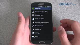 How To Install TWRP Recovery On The Samsung Galaxy S4