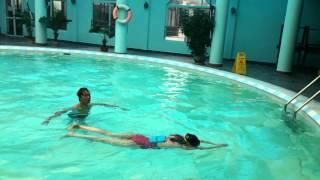 Dạy Bơi - Bài tập kết hợp chân tay thở