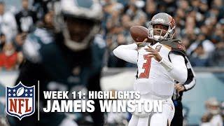 Jameis Winston Throws 5 TDs vs. the Eagles (Week 11) | Bucs vs. Eagles | NFL Highlights
