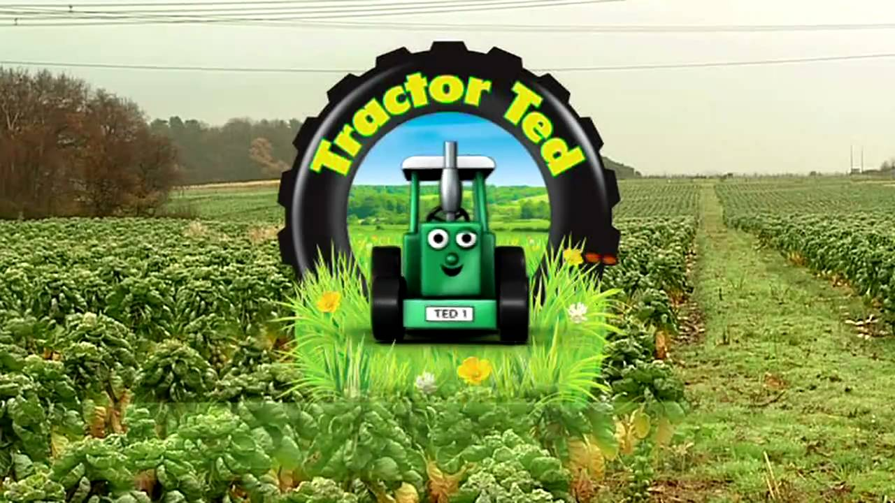 Trailer Tractor Ted In Springtime