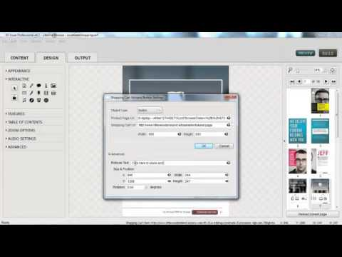 3D Issue V6.2 Adding the Shopping Cart Plugin to your Digital Magazine