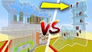 Thử Thách Làm Nhà Kính Trong Suốt Trong Minecraft