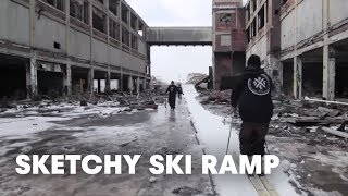 Building The Sketchiest Ski Ramp Of All Time Tracing