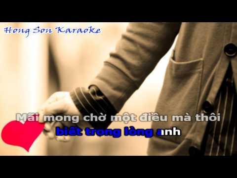 Anh Phải Làm Sao - Chu Bin | Karaoke Lyrics