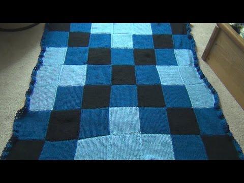 Crochet a Tunisian Afghan