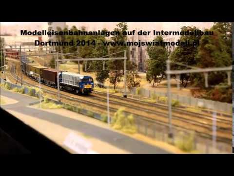 Makiety kolejowe - Modelleisenbahnanlagen Intermodellbau Dortmund 2014