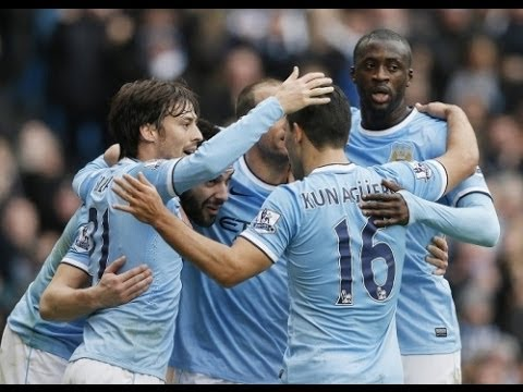 Manchester City - Amazing Team Goals in 2013/2014 HD (720p)