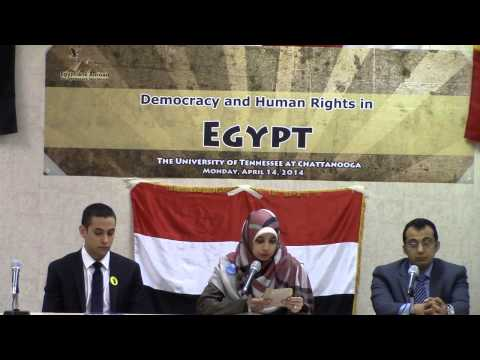 Democracy and Human Rights in Egypt - Sarah Attia